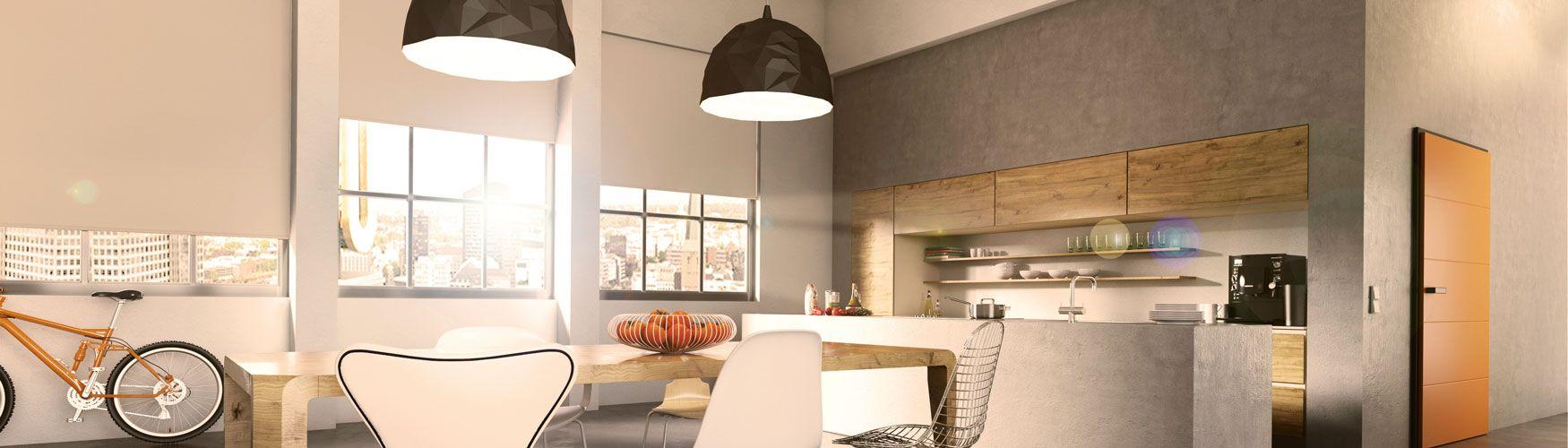rollos ihr freiraum f r designakzente sonnenschutz caris. Black Bedroom Furniture Sets. Home Design Ideas